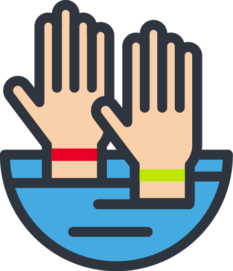 usapoolsnv- hand-above-water-bands